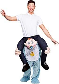 Carry Me Me – Disfraz cavalcioni Bebe para adultos, talla única ...
