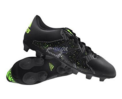 93363f8f6feac Buy adidas B32793 X 15.4 FxG Football Shoes, Men's UK 6 (Yellow/Black)  Online at Low Prices in India - Amazon.in