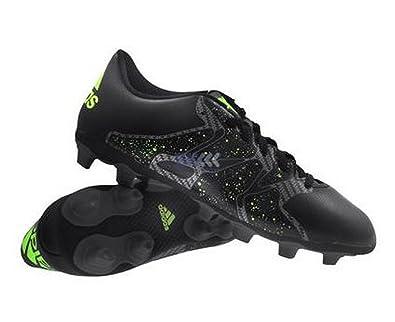 adidas Chaos Entry FxG, Chaussures de Football Homme - Noir (Core Black/Solar Yellow/Night Met. F13), 40 EU
