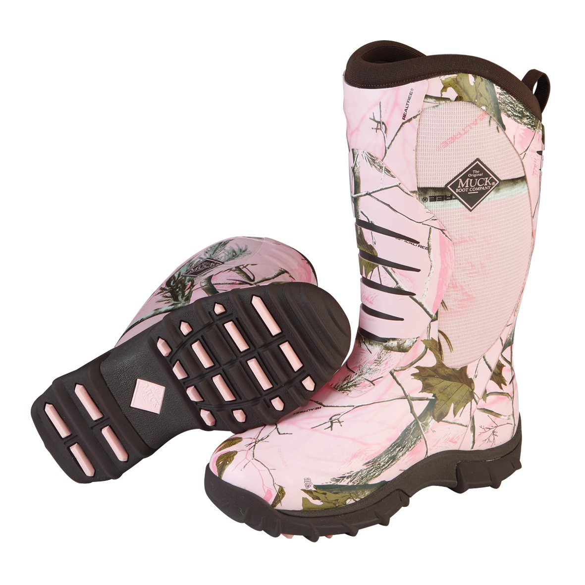 Muck Boot Women's Pursuit Stealth Hunting Boot WPS,Pink Realtree APC,US 7 M by Muck Boot