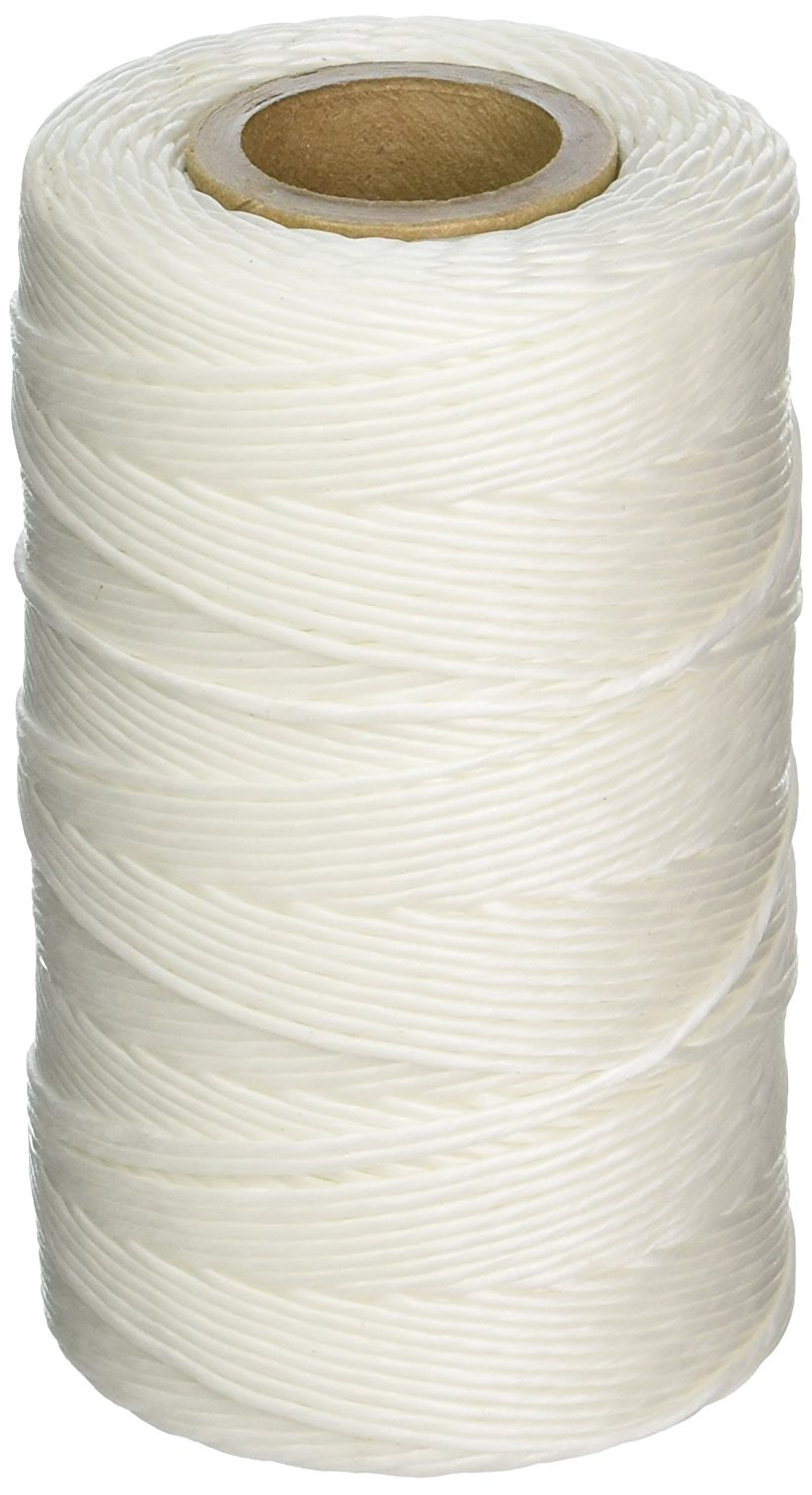 Weno Networks CASE OF 60 WAXED LACING CORD TWINE / CABLE TIE DOWN, POLYESTER, 9-PLY, 187 YARDS, 562 FEET, TENSILE STRENGTH: 150 LBS MADE IN THE USA