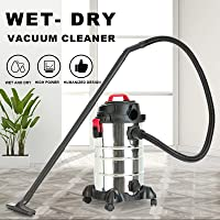 Wet and Dry 4-in-1 Dual-Purpose Vacuum Cleaner with Multi-Function High-Energy Filtration System, Suitable for Pet Hair…