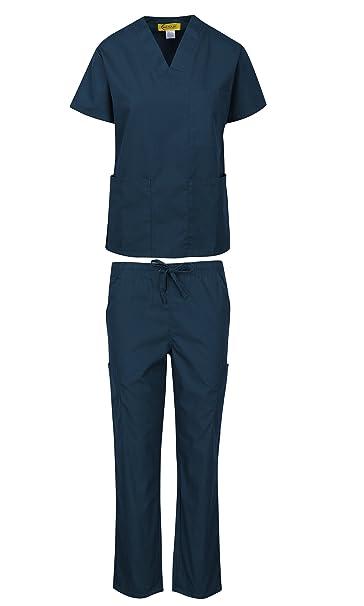 e8a587679 MARSCRUBS Uniforme Médico Mujer Hombre Médico Scrubs Set Parte ...