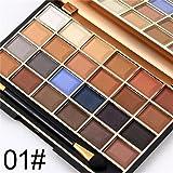 FantasyDay® 24 Colori Palette Ombretti Cosmetico Tavolozza per Trucco Occhi #1 - Adattabile a Uso Professionale che Privato