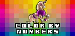 Color By Numbers ArtBook from Verona Games