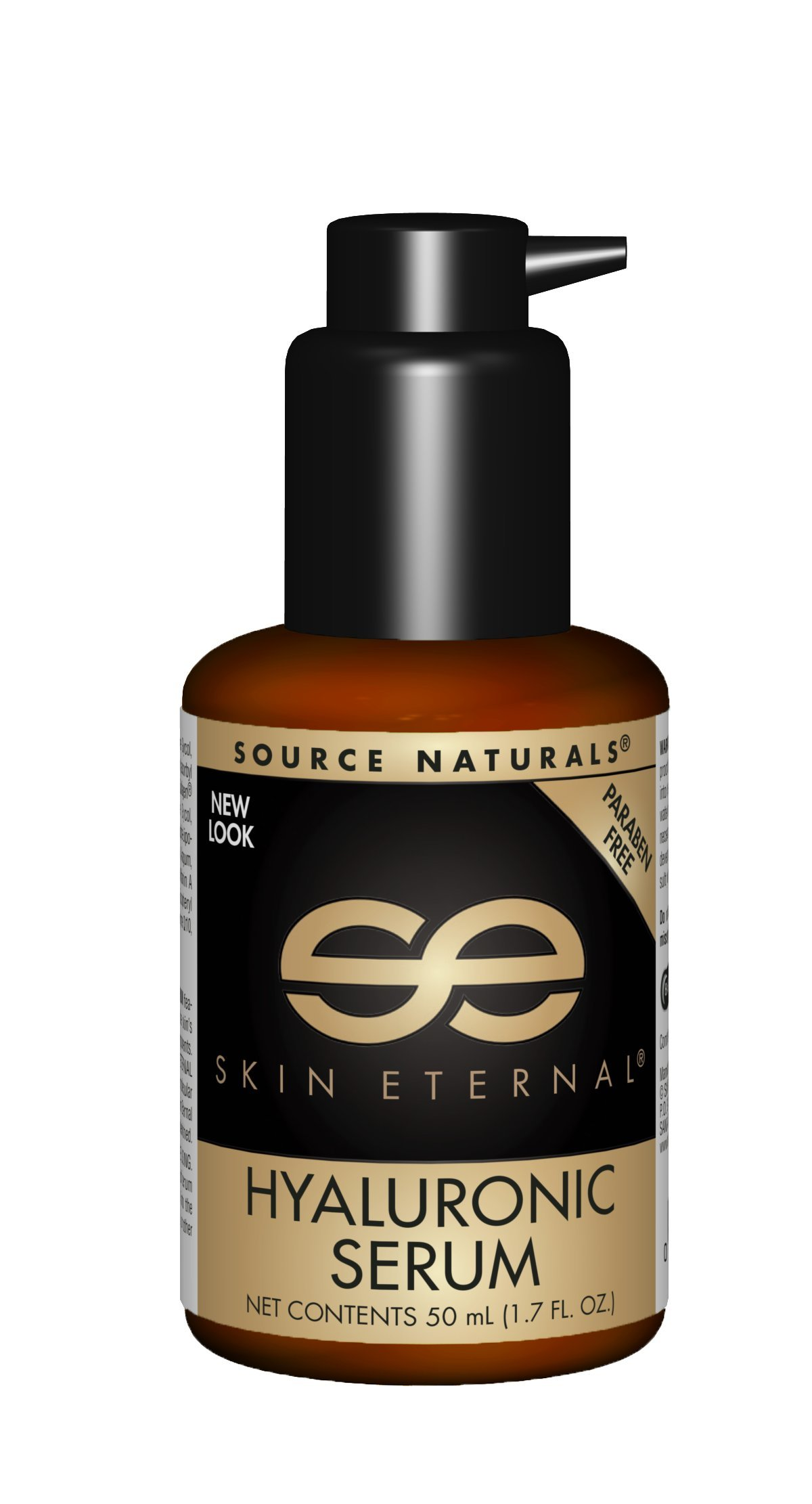 Source Naturals Skin Eternal Hyaluronic Serum, Will Leave Skin Feeling Soft and Replenished, 1.7 Ounce