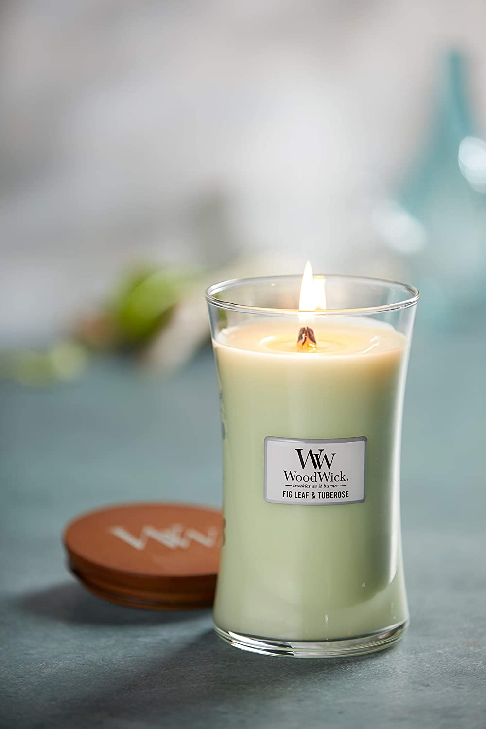 Fireside WoodWick Large Hourglass Scented Candle