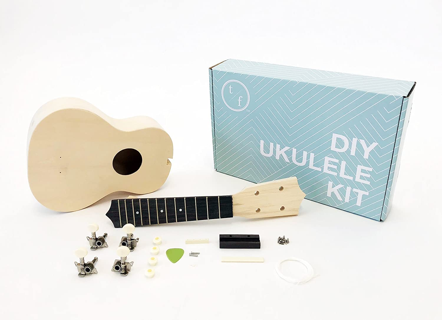 Sounds Great Build-It-Yourself DIY Soprano Ukulele Kit A Fun and Easy Project