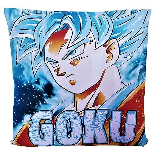 Pabloprint Fundas de cojín Dragon Ball Z Super Goku Vegeta ...
