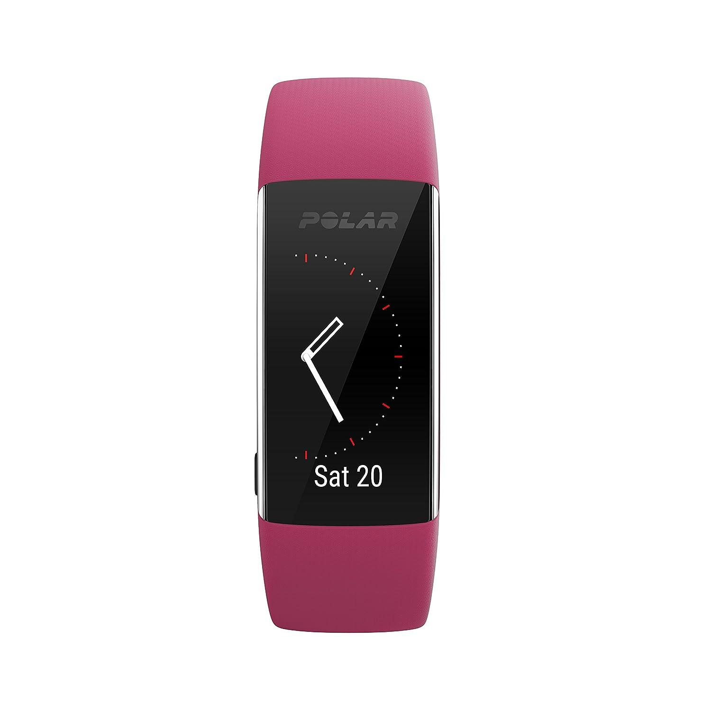 Polar A370 Reloj de fitness con GPS conectado y Frecuencia cardíaca en la muñeca. Actividad 24/7 - Rosa, S