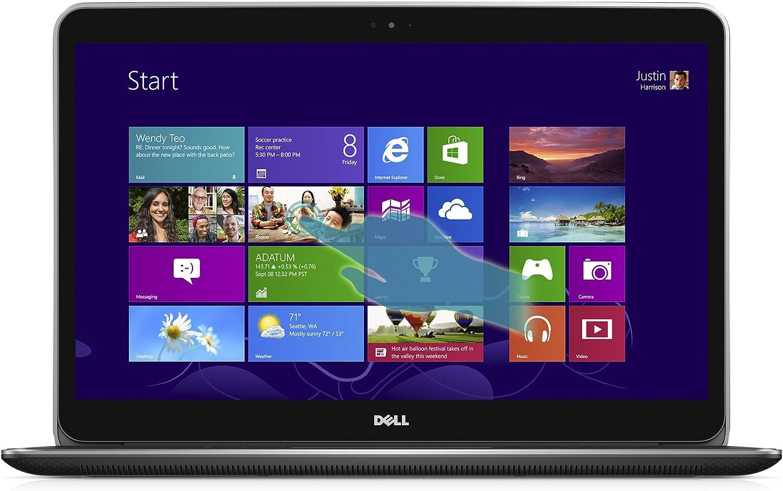 Dell XPS 15 UHD 15.6-Inch Touchscreen Laptop (Intel Core i7 4712HQ 2.3 GHz Processor, 16 GB RAM, 512 GB SSD,Windows 8.1 OS) Silver