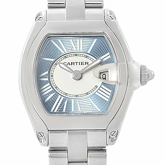 Cartier Roadster Cuarzo Mujer Reloj w62053 V3 (Certificado) de Segunda Mano: Cartier: Amazon.es: Relojes