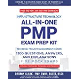 All-In-One PMP® EXAM PREP Kit,1300 Question, Answers, and Explanations, 240 Plus Flashcards, Templates and Pamphlet Updated f