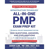 All-In-One PMP(R) EXAM PREP Kit,1300 Question, Answers, and Explanations, 240 Plus Flashcards, Templates and Pamphlet…