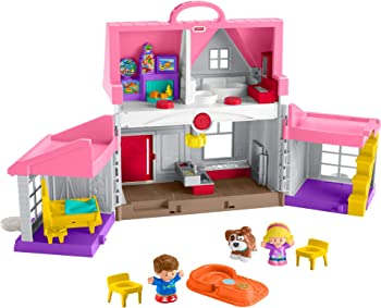 Fisher-Price Little People Big Helpers Home DollHouse