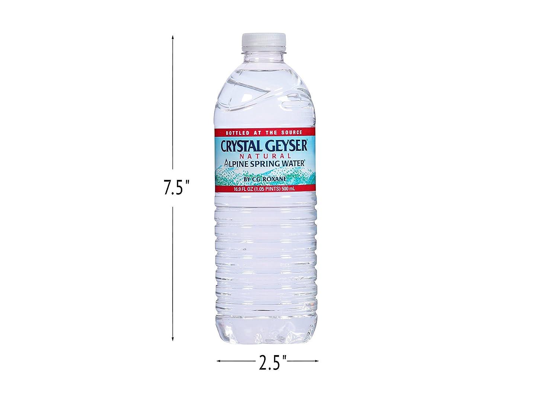 Crystal Geyser Alpine Spring Water, 16 9 oz Bottle, 35 count
