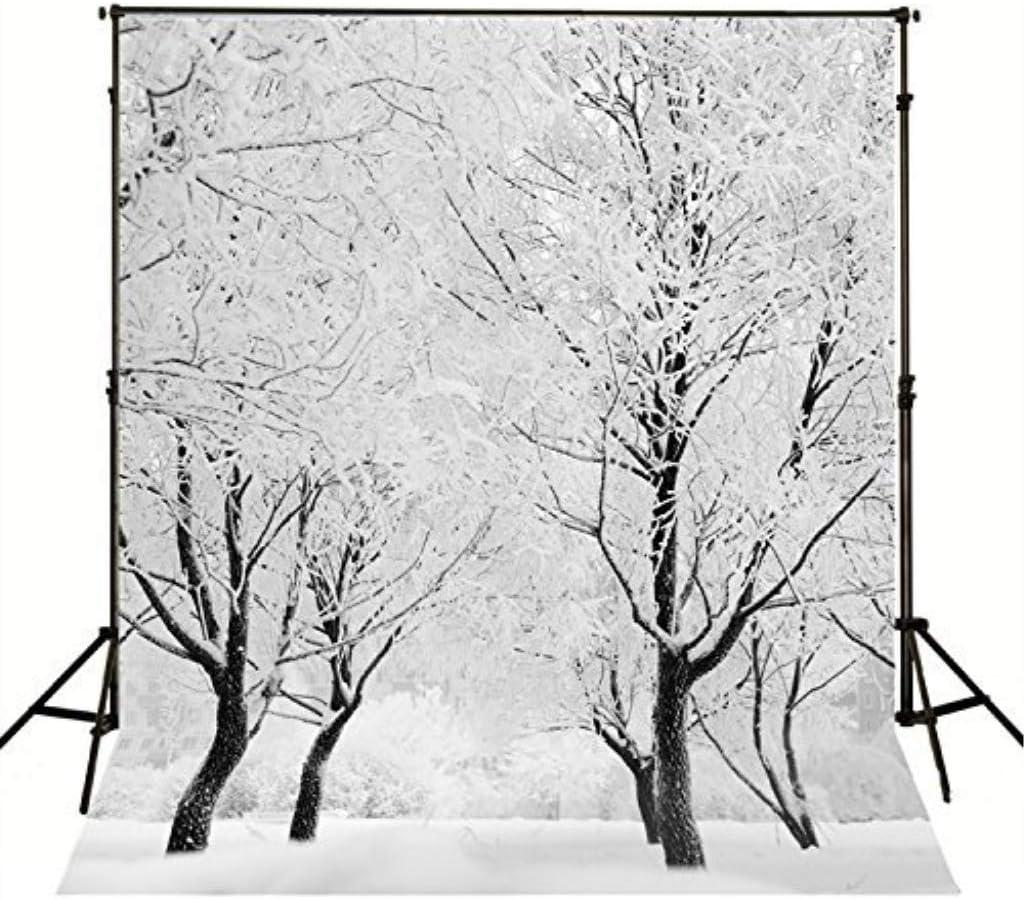7/×5ft Photowall Backdrop Vinyl Winter Wonderland Arts Dreamlike Photo Studio Background Photo Studio Background Party Background Wall Photography Backdrop for Photo Studio