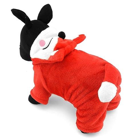 ifamili Pequeño Mascotas ropa para perros gatos forro polar ...