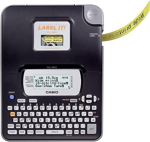 Casio KL-820 - Etiquetadoras: Amazon.es: Oficina y papelería