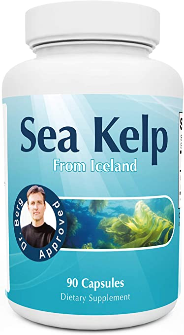 Dr. Berg's Icelandic Sea Kelp Supplement