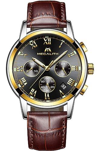 011e05077d785 Montre Homme Etanche Montre de Luxe Mode Sport Chronographe Date Calendrier  Entreprise Quartz Analogique Montre Bracelet