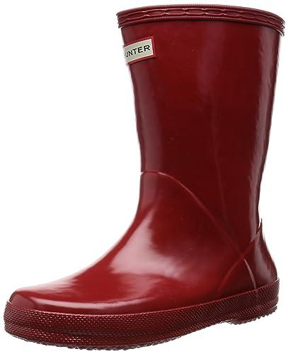 12d72c38e41 hunter Unisex Kids' First Classic Rain Boots: Amazon.co.uk: Shoes & Bags