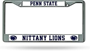 Rico Industries NCAA Penn State Nittany Lions Standard Chrome License Plate Frame , 6 x 12.25-inches