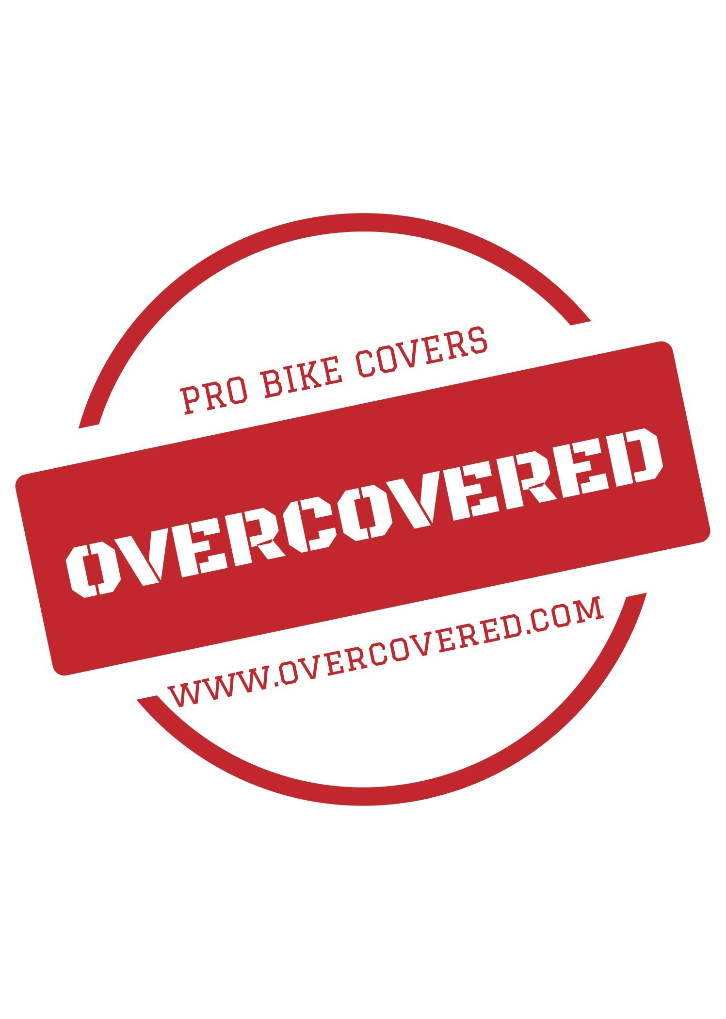 Heavy-duty bike cover for hitch-mount bike racks by OVERCOVERED (Image #7)