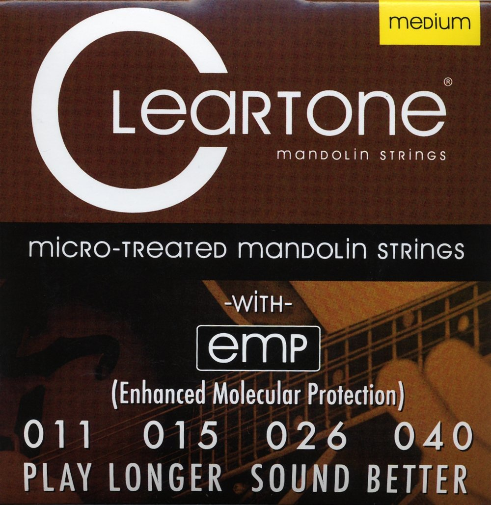 Cleartone Mandolin Phosphor Bronze Strings Medium