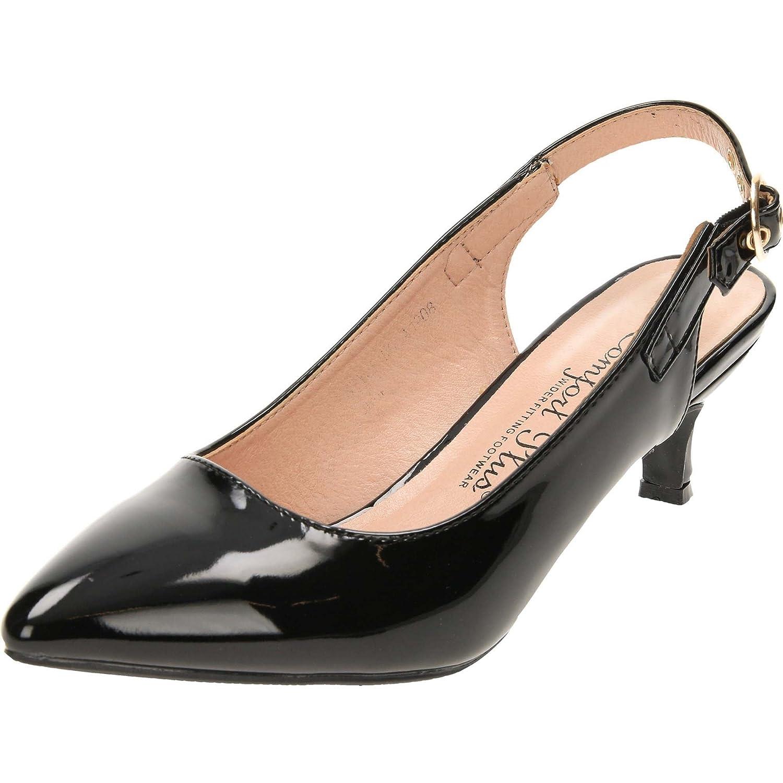 39379c64e807c Comfort Plus Women's Wide Fit Shoes Kitten Heel: Amazon.co.uk: Shoes & Bags
