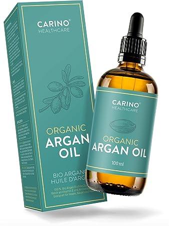 Bio-Arganöl kaltgepresst für Gesicht Haut Haare - 100ml Argan Öl 100 ...