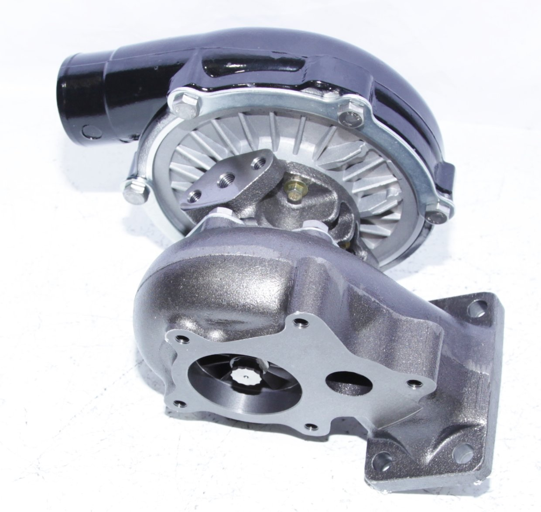 BLACK EMUSAT3//T4 Hybrid Turbo Charger .50 A//R Compressor .63 A//R Turbine Wheel universal turbo