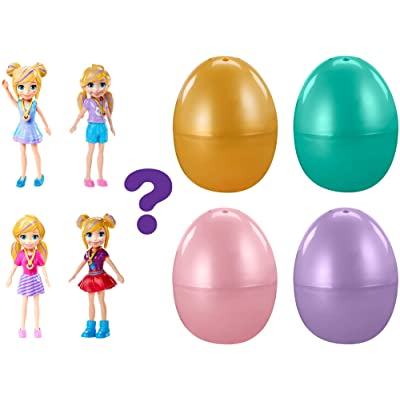 Polly Pocket Easter Egg with Impulse Doll [Styles May Vary], Multicolor, Model:GJF95: Toys & Games