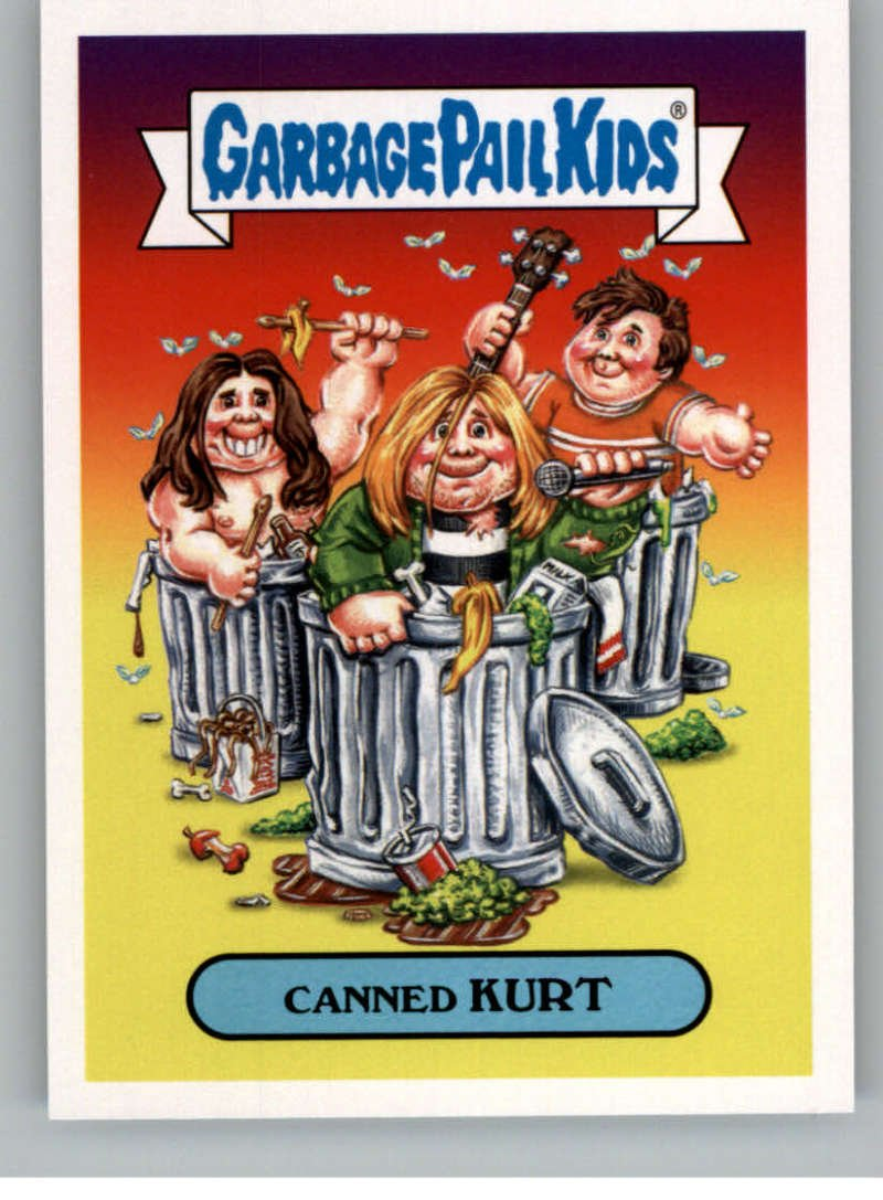 2017 Topps Garbage Pail Kids Series 2 Alternative #5A CANNED KURT