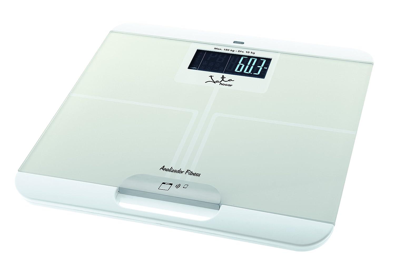 Jata Hogar 595 - Analizador corporal y bascula con tecnologia bluetooth y visor LCD: Amazon.es: Salud y cuidado personal