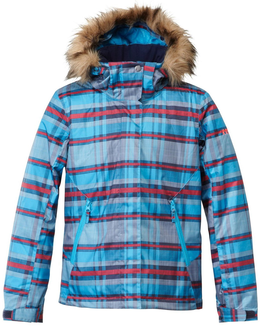 Roxy Girls Snow Jacket Youth Size 10 Small