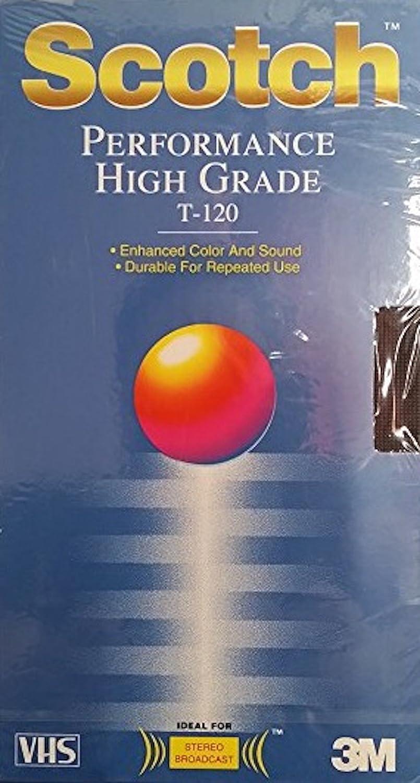 SCOTCH - PERFORMANCE HIGH GRADE T-120 Blank VHS Tape