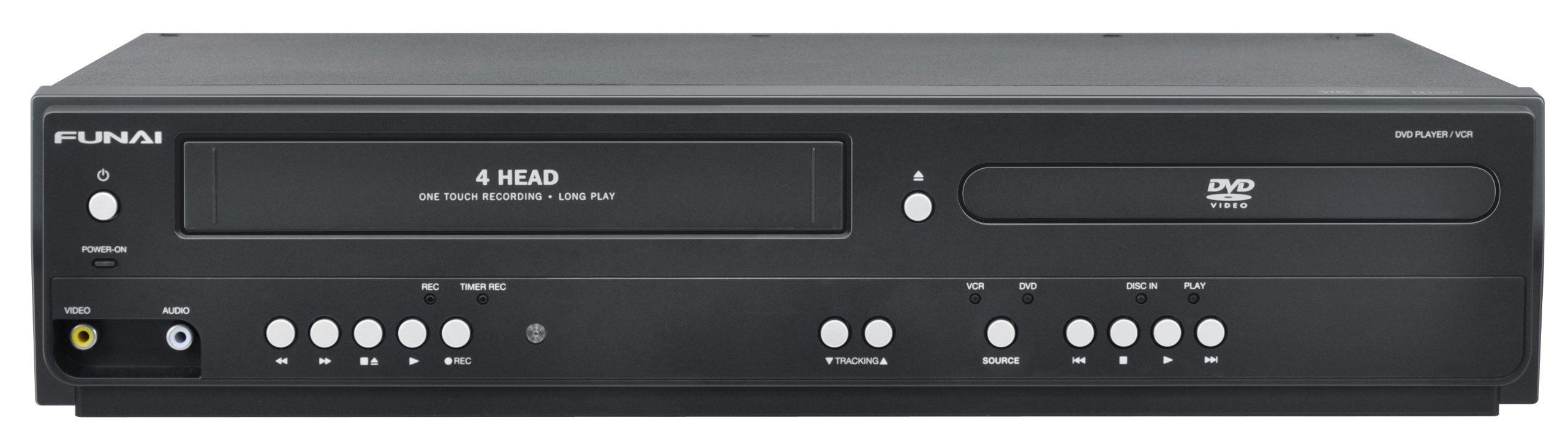 Funai Corp. DV220FX5 Dual Deck DVD and VHS Player by Funai
