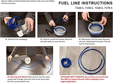 "Neoprene Fuel Gas Line 5//16/"" ID x 25/' Roll Hose Lawn Mower Tractor Auto Go Kart"