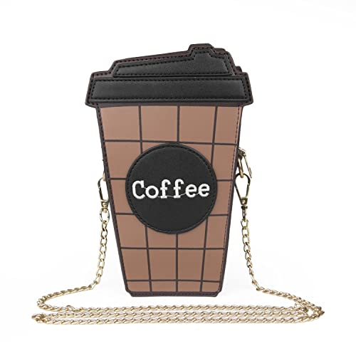 SUKUTU Girls Coffee Crossbody Chains Bags