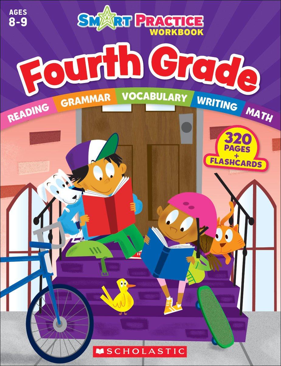 Smart Practice Workbook: Fourth Grade (Smart Practice Workbooks) by Scholastic (Image #2)
