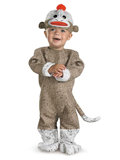 ae60f34a0aa Disguise Inc All NEW Sock Monkey Baby Costume