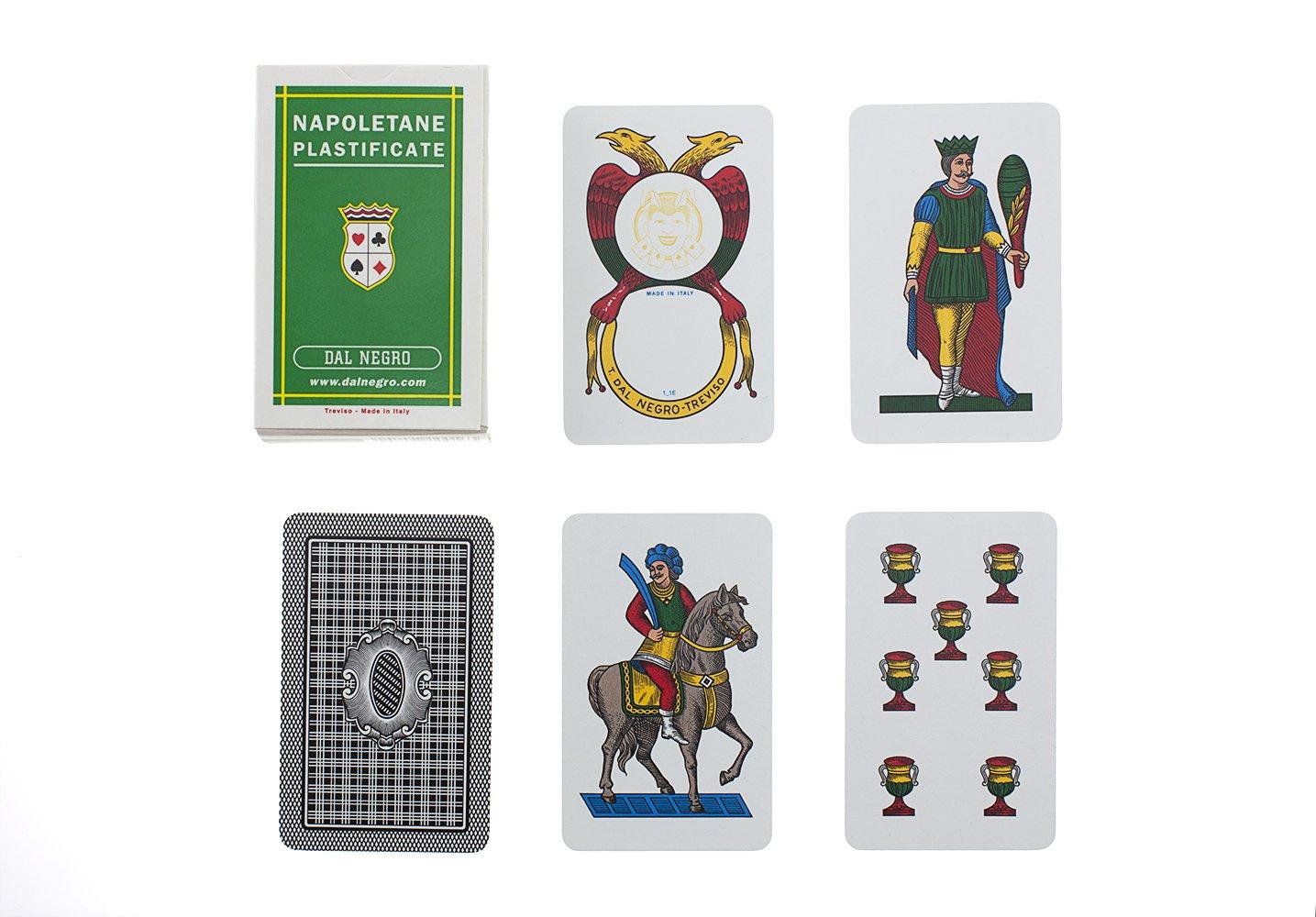 Dal Negro 10016 - Napoletane Carte da Gioco Regionali, Astuccio Verde Astuccio Verde Teodomiro Dal Negro S.p.A.