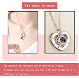 Womens Pendant Necklace, Memory of Love