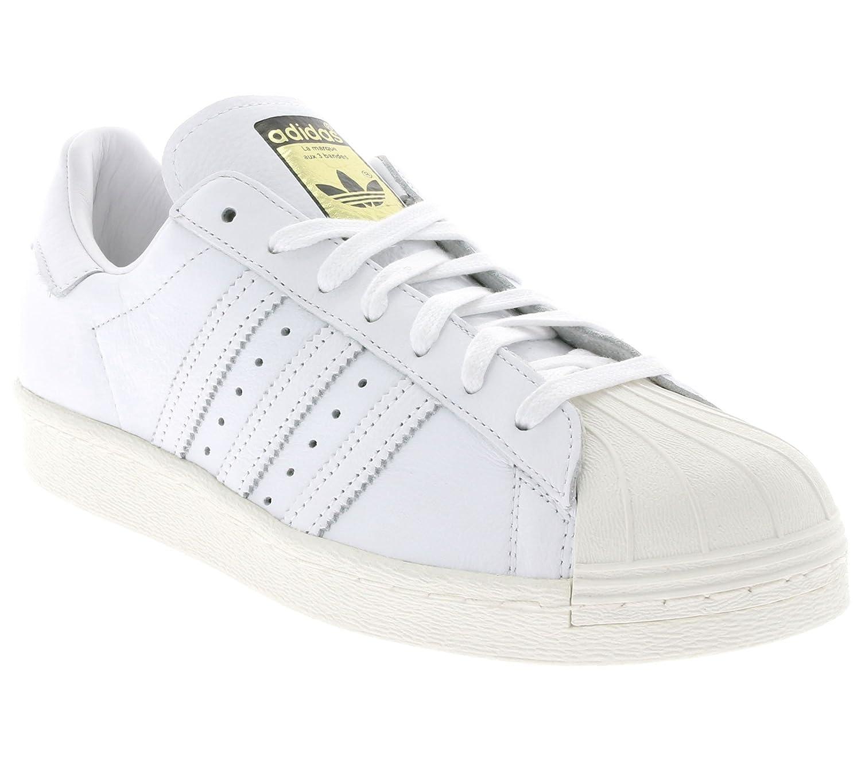 - adidas Superstar 80s DLX (weiszlig;   weiszlig;) - 36 2 3 EUR middot; 4 UK