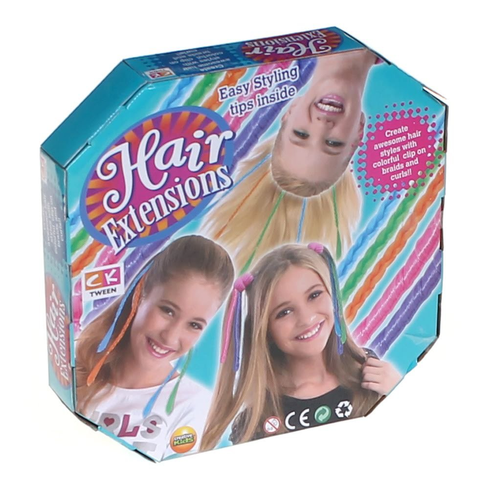 Amazon Creative Kids Hair Extensions Kit Toys Games