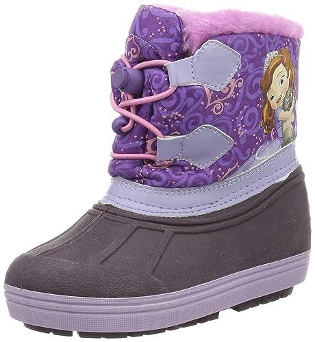 Sofia die Erste Girls Kids Snowboot Booties, Botines para Niñas, Morado (LLI/Pur/DFUX 154), 30 EU: Amazon.es: Zapatos y complementos