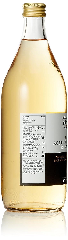 Marca Amazon - Wickedly Prime Vinagre de sidra de manzana orgánico: Amazon.es: Alimentación y bebidas