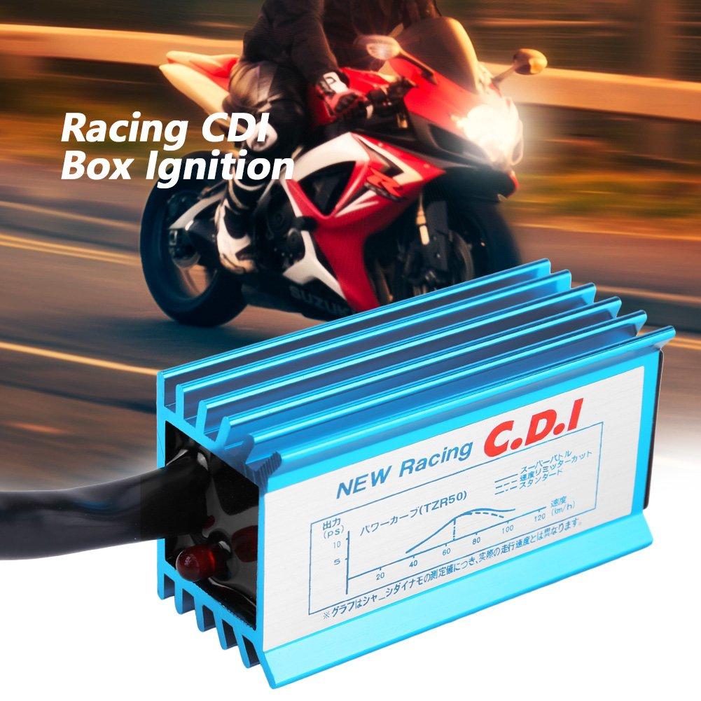 Aramox Racing CDI Box Ignition for Yamaha Jog Scooter Moped 2 Stroke 50CC 90CC