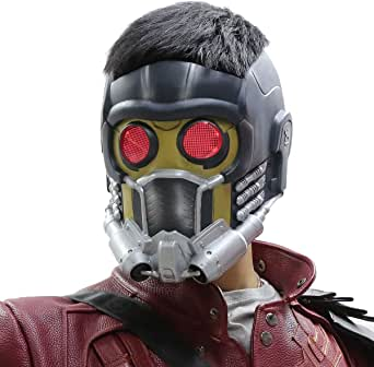 Star-Lord Máscara para Adultos Cosplay y Carnaval Traje Halloween ...